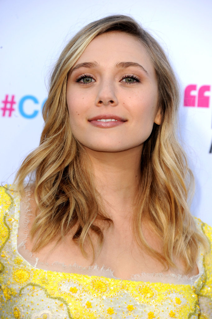 Elizabeth Olsen looked confident heading into the Critics' Choice Movie Awards.