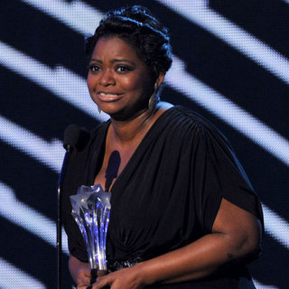 Octavia Spencer in Critics' Choice Awards Press Room