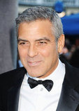 The handsome Mr. Clooney at the Critics' Choice Awards.