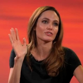Angelina Jolie on Golden Globe Nomination (Video)