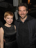 Bradley Cooper and Michelle Williams hung out together at the Chateau Marmont.