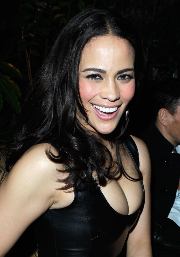 Paula Patton had a big smile in LA.