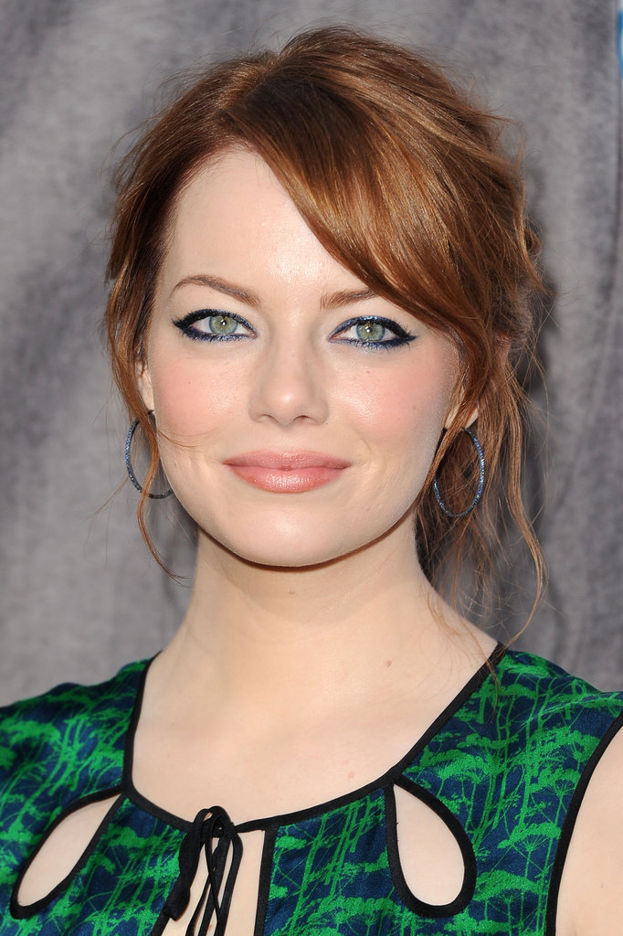 Emma Stone at the Critics' Choice Movie Awards.