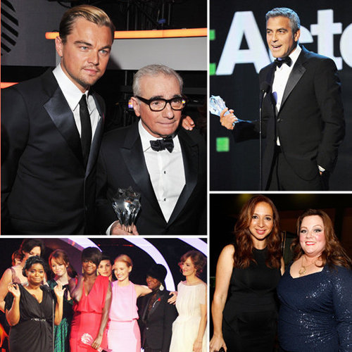 2012 Critics' Choice Awards Show and Celebrity Pictures