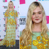 Elle Fanning at Critics' Choice 2012