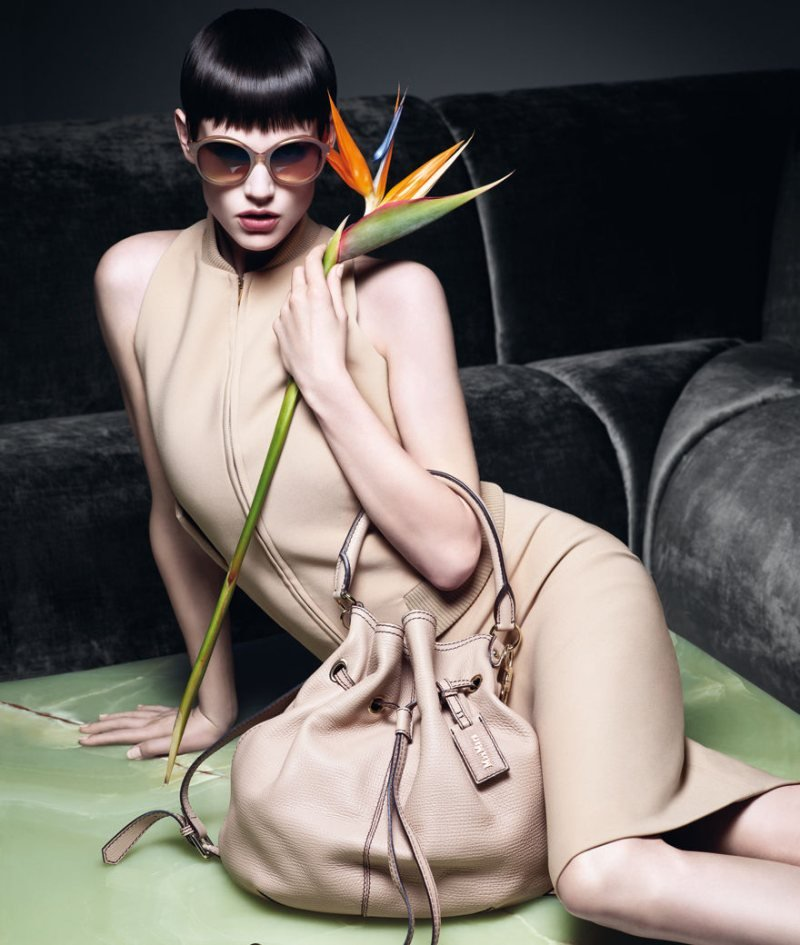 Max Mara chose a nude palette for its Spring '12 ads. Source: Fashion Gone Rogue