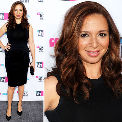 Maya Rudolph at Critics' Choice 2012