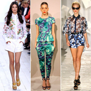 Spring 2012 Top Runway Trends
