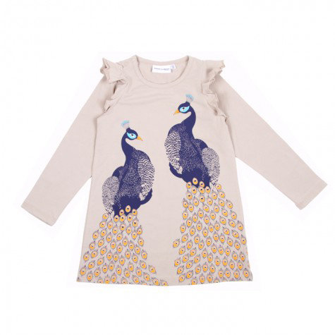 Sweet William Pick: Mini Rodini Peacock Dress