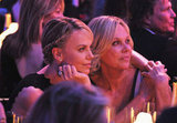 Charlize Theron and her mom share a sweet moment.