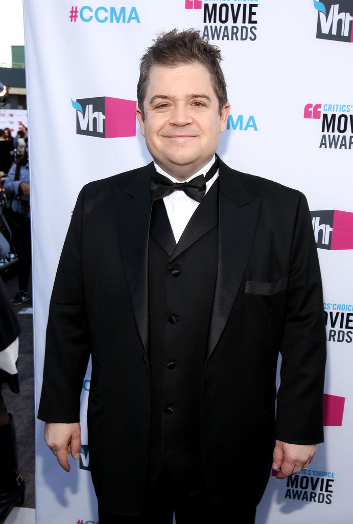Patton Oswalt of Young Adult makes his way down the carpet.