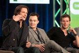 Jared Padalecki, Ed Westwick, and Joseph Morgan