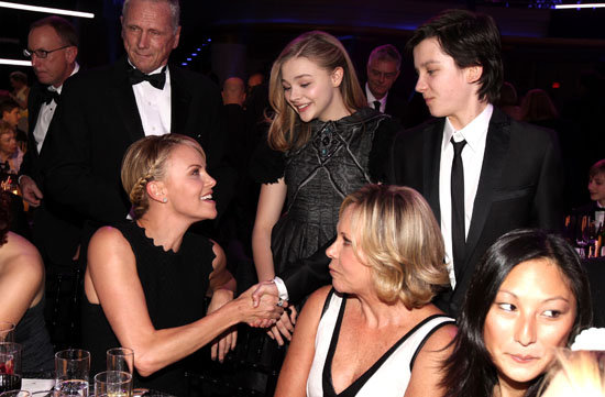 Charlize Theron, Chloë Moretz, and Asa Butterfield