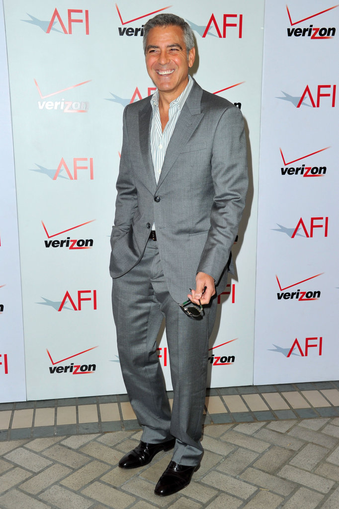 George Clooney at AFI Awards.