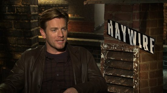 Ewan McGregor on Happily Getting a Fight Scene and the Hilarious Emily Blunt