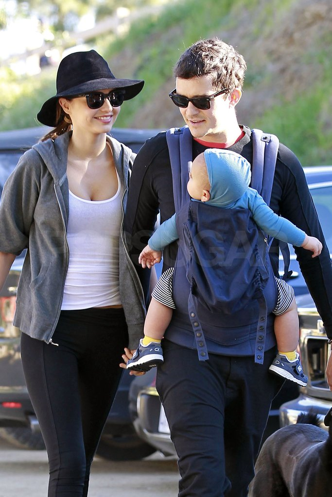 Orlando Bloom Celebrates His Birthday on a Hike With Miranda and Flynn!