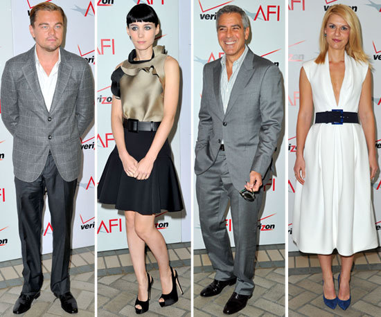 George, Leo, Claire, Rooney and More Continue the Award Show Fun at AFI