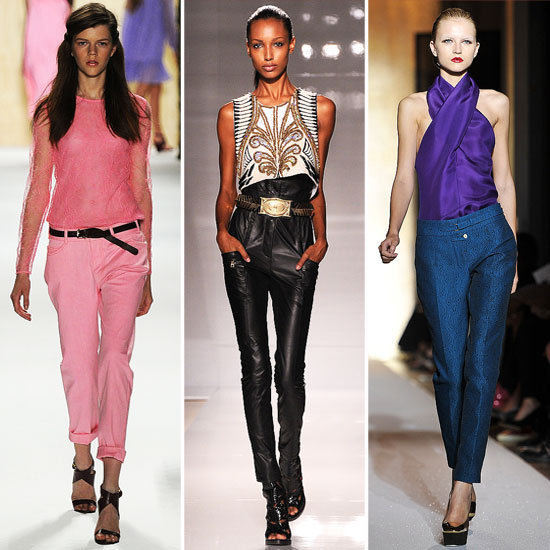 5 of the Best Pant Silhouettes From the Spring '12 Runways