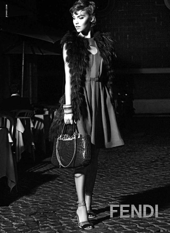 Fendi Spring/Summer 2012 Ad Campaign - Arizona muse
