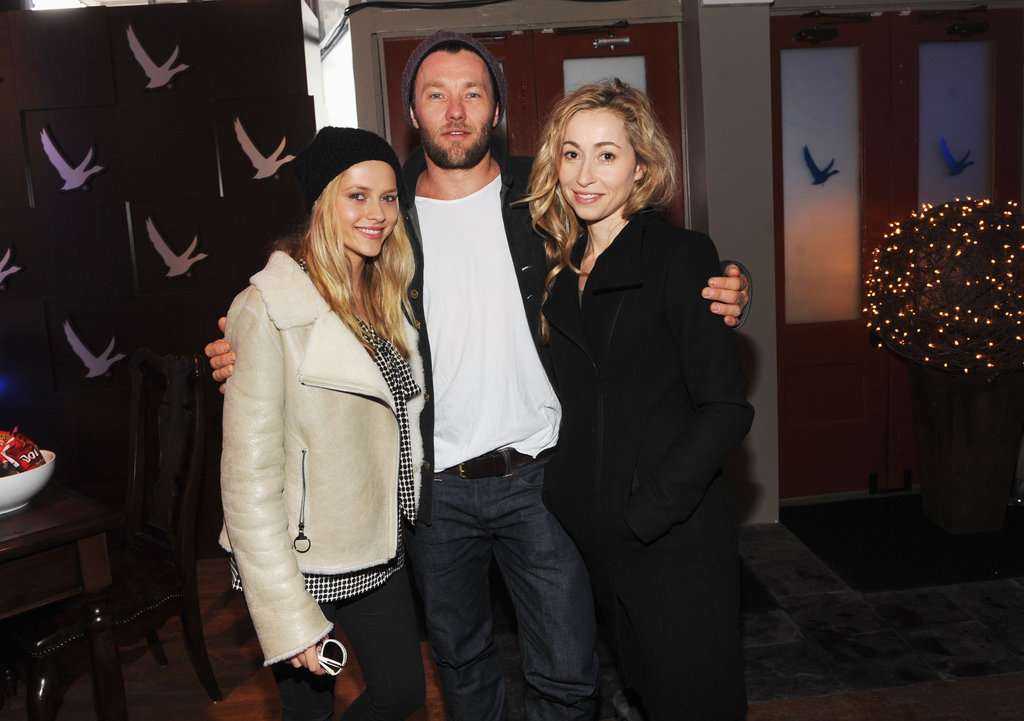 Teresa Palmer, Joel Edgerton and Felicity Price