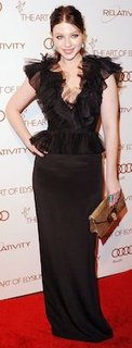 Designer of Michelle Trachtenberg's Dress at Art of Elysium