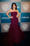 Tina Fey brought her Oscar de la Renta dress and Kwiat jewels to  InStyle's Golden Globes afterparty.