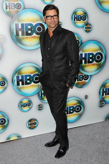 John Stamos attended HBO's post-Golden Globes bash.
