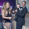 Mariah Carey, Nick Cannon, and Twins at BET Awards Pictures