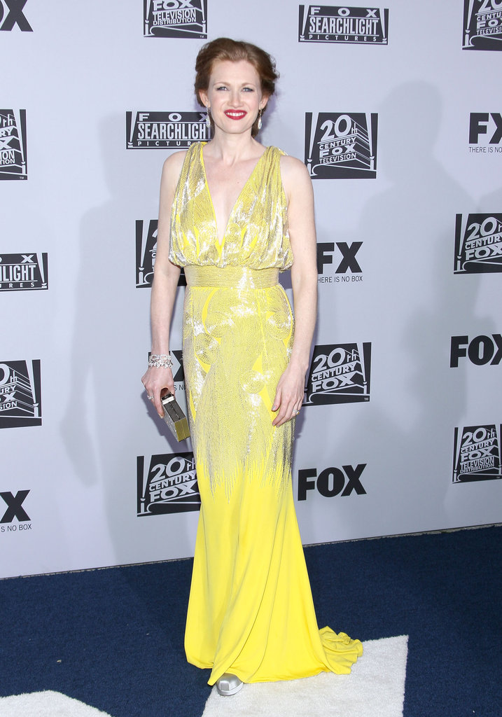 Mireille Enos attended the Fox party.