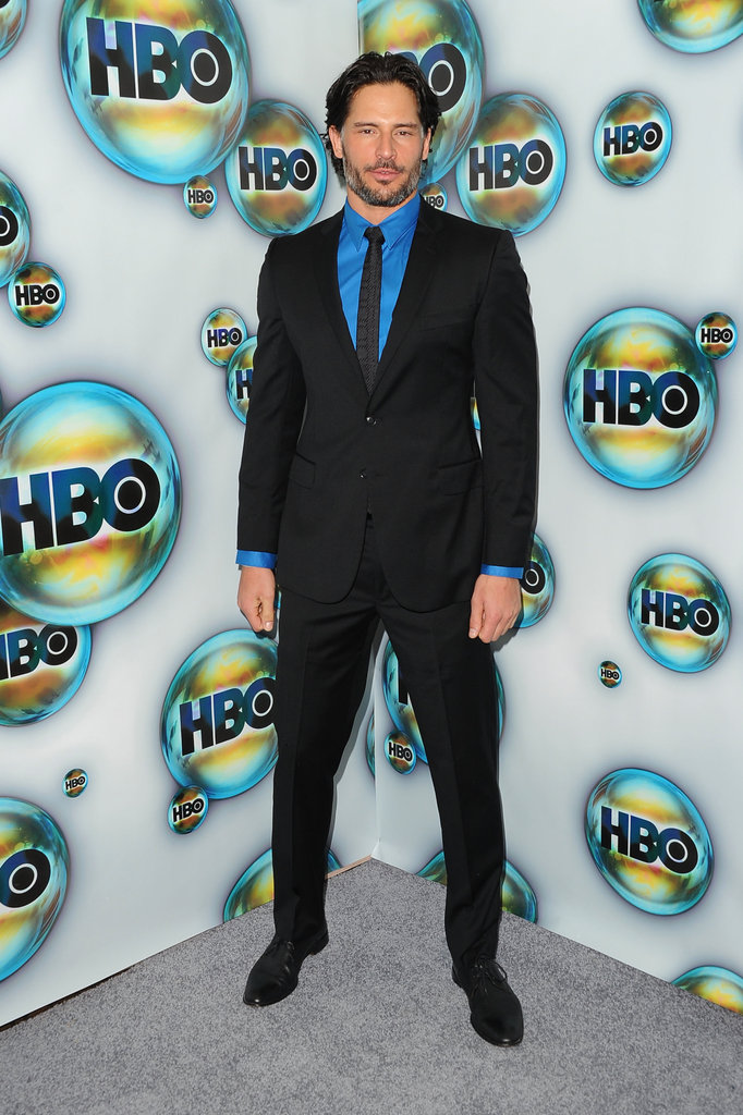 Joe Manganiello attended HBO's post-Golden Globes bash.
