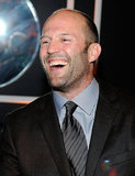 Jason Statham laughed out loud at the the Weinstein Company's Golden Globes after party.