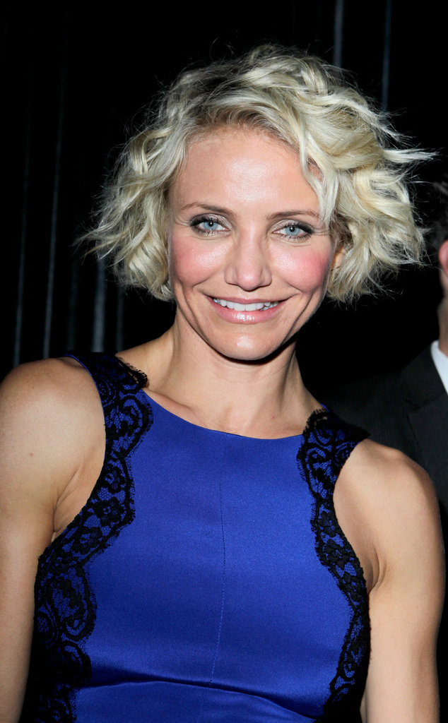 Cameron Diaz Makes a Late-Night Globes Afterparty Appearance — With Diddy?