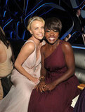 Charlize Theron and Viola Davis said hello.