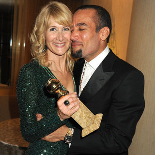 Laura Dern and Ben Harper Golden Globes