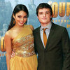 Vanessa Hudgens and Josh Hutcherson Pictures at Journey 2: The Mysterious Island Melbourne Premiere