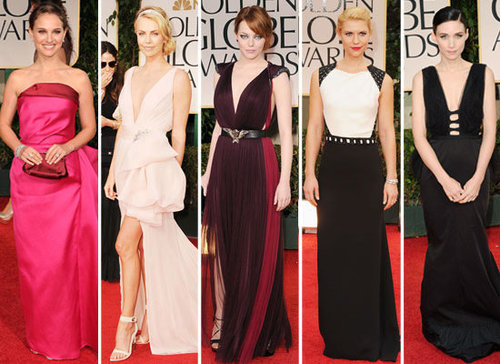 Vote For Your Best Dressed From This Year's 2012 Golden Globes!