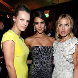 Kelly Patricof, Jessica Alba and Rachel Zoe