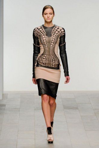 David Koma London Fashion Week fashion show catwalk report fall 2011