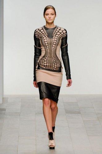 David Koma London Fashion Week fashion show catwalk report fall 2011