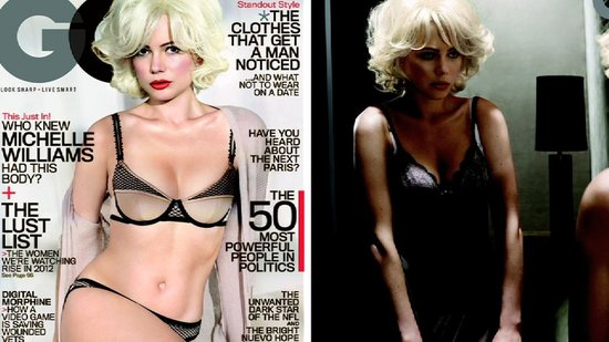 "Video: Michelle Williams Wears Lingerie and Talks About ""Being Sexy"" For GQ"