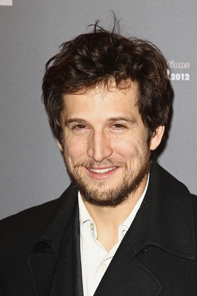 Guillaume Canet arrived at a party in Paris.