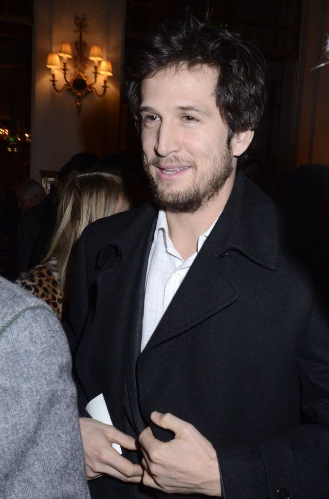 Guillaume Canet chatted up friends at a Parisian cocktail party.