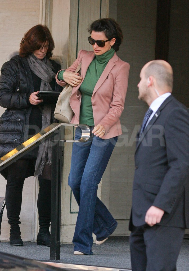 Penelope Cruz was out and about in London.