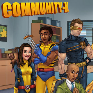 Community Cast as X-Men Picture