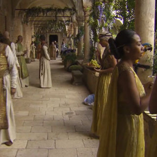 Game of Thrones Season 2 Set Video