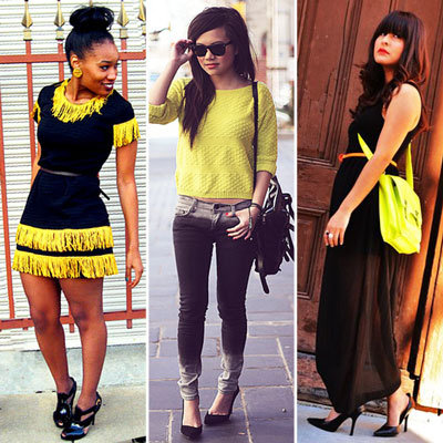 Styling Tip: Add Yellow to Wardrobe