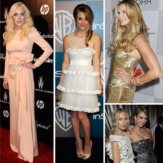 2012 Golden Globes After Parties: Who Wore What
