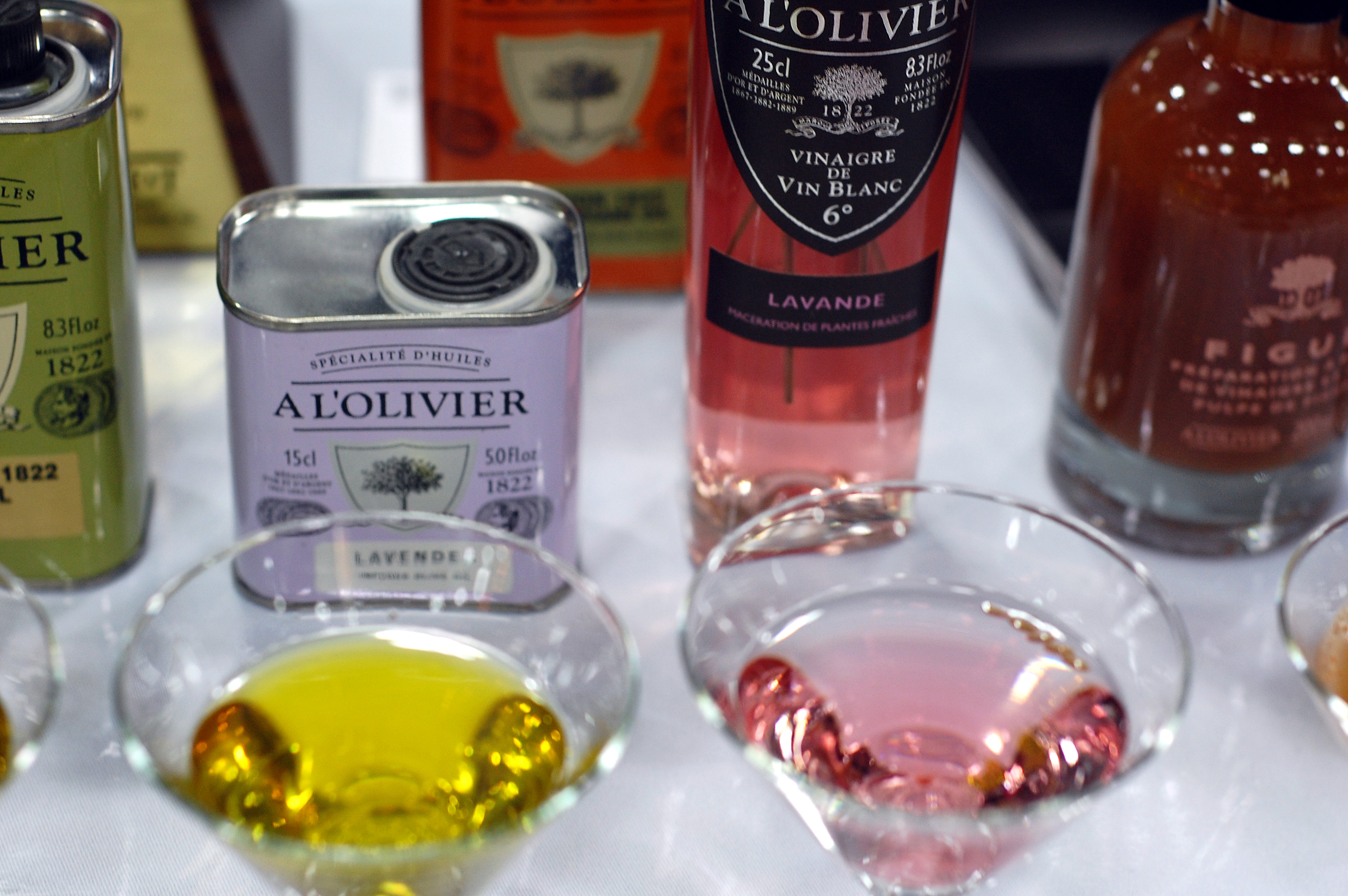 A L'Olivier Lavender Olive Oil and Vinegar