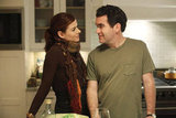 Debra Messing and Brian d&#039;Arcy James in Smash.