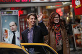 Christian Borle and Debra Messing in Smash.